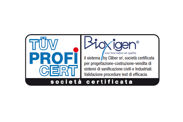Quality Certification of product | Bioxigen